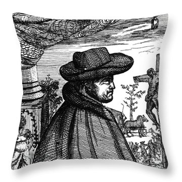Frère Jacques Beaulieu, French Throw Pillow by Science Source