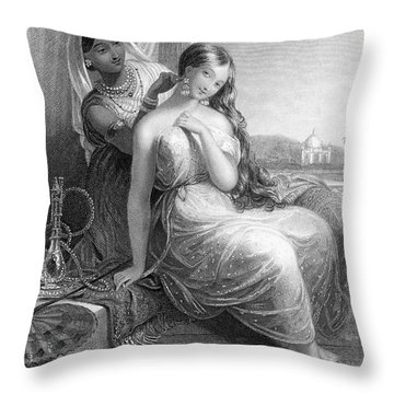 Harem Throw Pillow by Granger