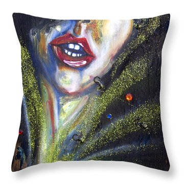 Isis Throw Pillow by Sheridan Furrer