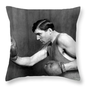Jess Willard (1883-1968) Throw Pillow by Granger
