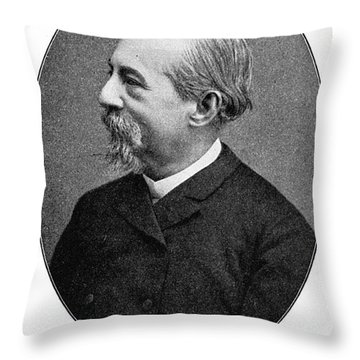JosÉ Zorrilla Y Moral Throw Pillow by Granger