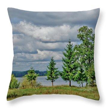 Lake Seliger Throw Pillow