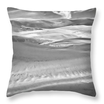 Land Meets Sky Throw Pillow