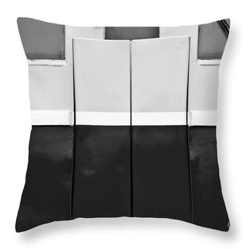 Locomotive Detail Throw Pillow