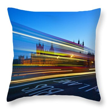 Big Ben Throw Pillows
