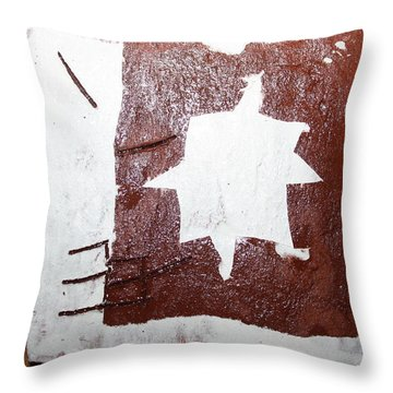 Love - Tile Throw Pillow by Gloria Ssali
