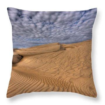 Magic Of The Dunes Throw Pillow