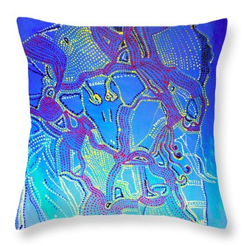 Mama Africa Throw Pillow by Gloria Ssali