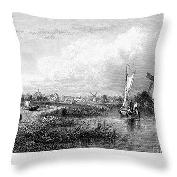 Netherlands: The Hague Throw Pillow by Granger