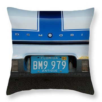 Olds C S Throw Pillow by Rob Hans