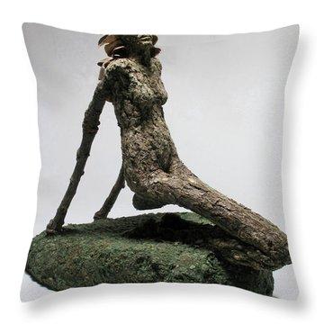 Placid Efflorescence Throw Pillow by Adam Long