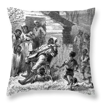 Plantation Life Throw Pillow by Granger