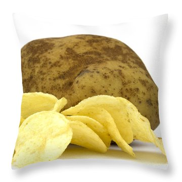 Potato Throw Pillows
