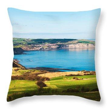 Ravenscar Throw Pillow by Svetlana Sewell
