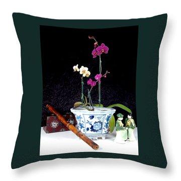 Rendezvous Throw Pillow by Elf Evans