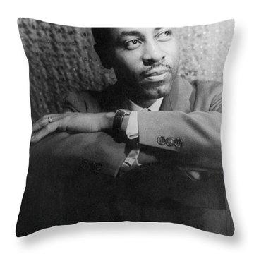 Robert Mcferrin (1921-2006) Throw Pillow by Granger