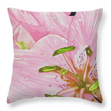 Rosita  Throw Pillow by Debi Singer