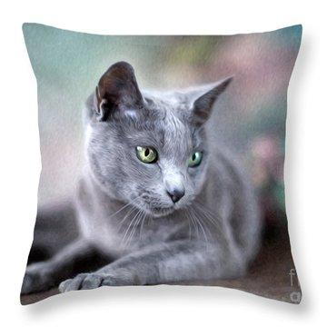 Cute Cat Throw Pillows