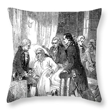Samuel Johnson (1709-1784) Throw Pillow by Granger