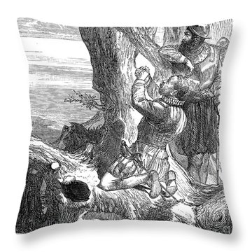 Sir Francis Drake (1540-1596) Throw Pillow by Granger