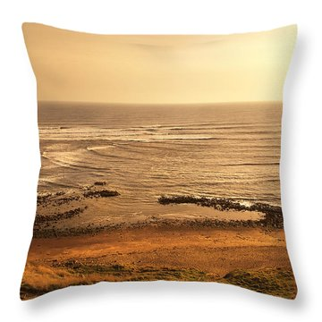 Sunrise Throw Pillow by Svetlana Sewell