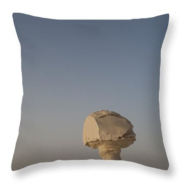 The Strange Eroded Formations Throw Pillow by Taylor S. Kennedy