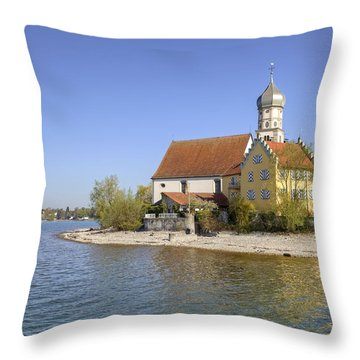 Wasserburg Throw Pillow