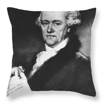 William Herschel, German-british Throw Pillow by Science Source