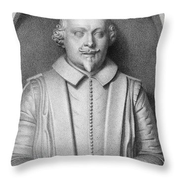 William Shakespeare Throw Pillow by Granger