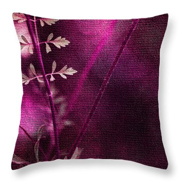 Wonderment Throw Pillow by Bonnie Bruno