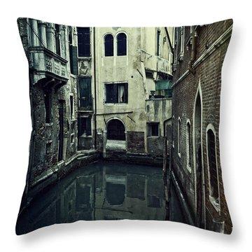 Venezia Throw Pillow by Joana Kruse