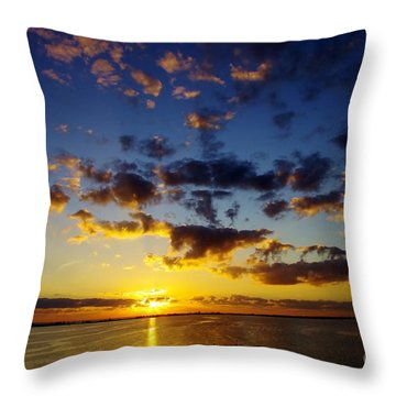 2012 Begins Throw Pillow by Don Youngclaus