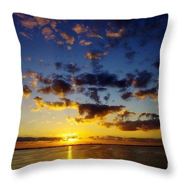 2012 Begins Throw Pillow