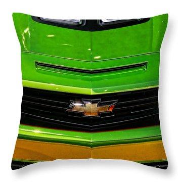 2012 Chevy Camaro Hot Wheels Concept Throw Pillow by Gordon Dean II