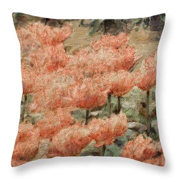 de Young Museum San Francisco Throw Pillow by Carol Ailles