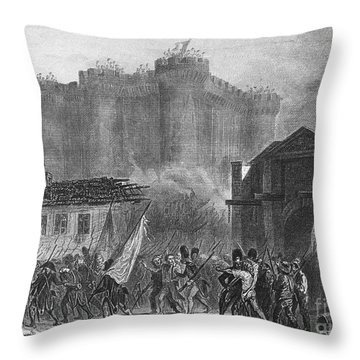 French Revolution, 1789 Throw Pillow by Granger