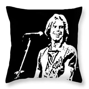 Bob Weir Throw Pillow