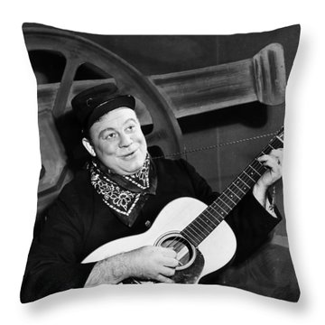 Burl Ives (1909-1995) Throw Pillow by Granger