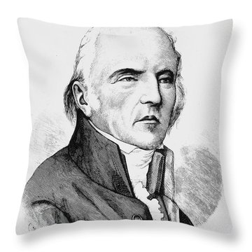 Chevalier De Lamarck Throw Pillow by Granger