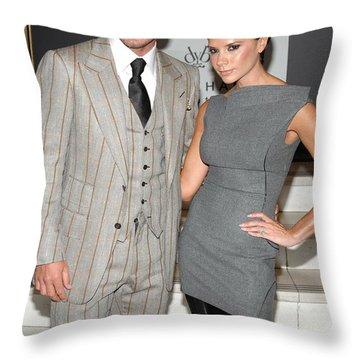 David Beckham Throw Pillows