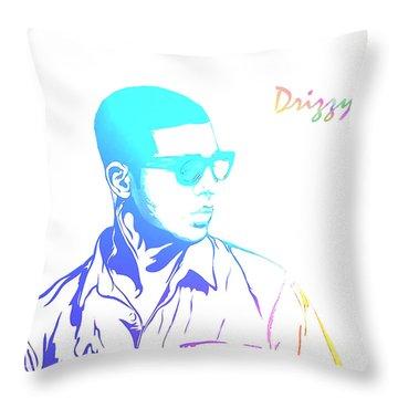 Drizzy Throw Pillows