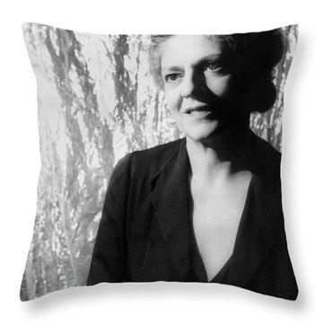 Ethel Barrymore (1879-1959) Throw Pillow by Granger