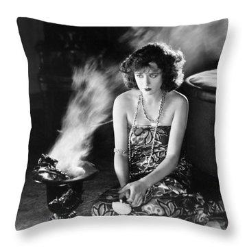 Film Still: Fortune Telling Throw Pillow by Granger