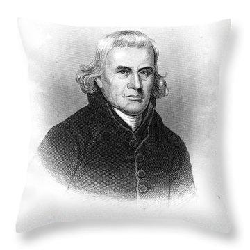 Francis Asbury (1745-1816) Throw Pillow by Granger