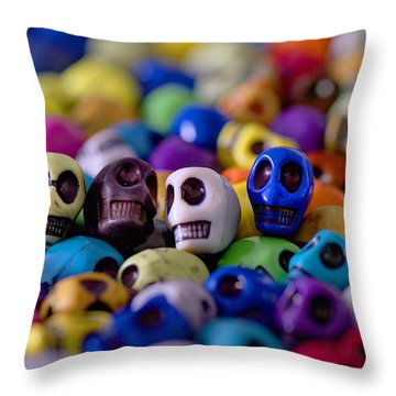 Friends Throw Pillow by Mike Herdering