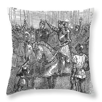 Henry Vii (1457-1509) Throw Pillow by Granger