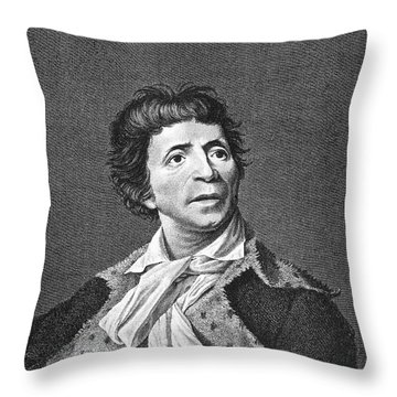 Jean-paul Marat (1743-1793) Throw Pillow by Granger