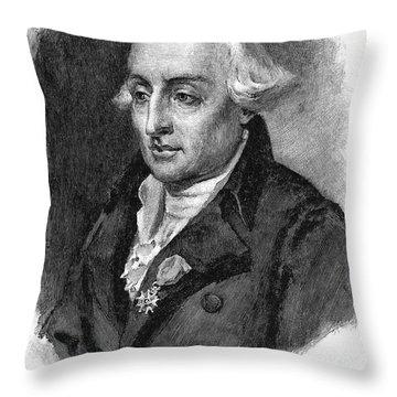 Joseph Louis Lagrange Throw Pillow by Granger