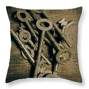 Keys Throw Pillows
