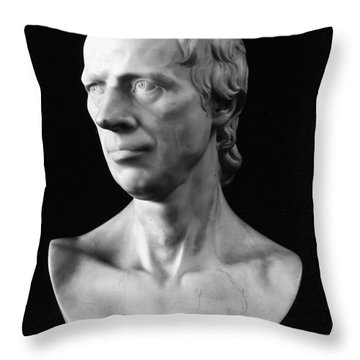 Laurence Sterne (1713-1768) Throw Pillow by Granger
